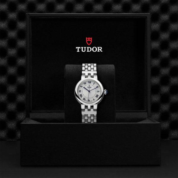 Relógio TUDOR Clair de Rose com Caixa em aço, 34 mm, bracelete em aço. Disposição em caixa de marca.